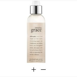 PHILOSOPHY Amazing Grace Satin Body Oil Mist.